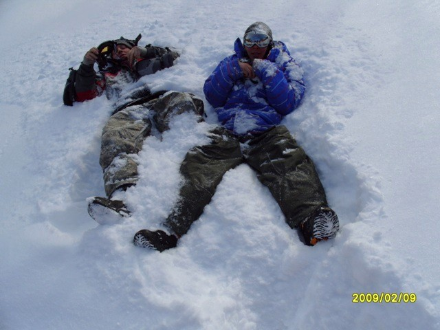 Сноубордисты жги!