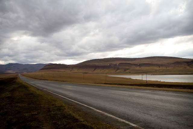 Дорога около Копьево, озеро Нефритовое