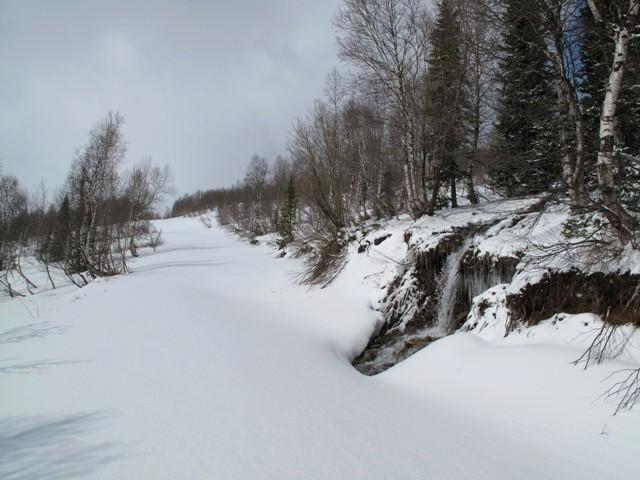 Дорога с Ивановской поляны к ГУСу + во