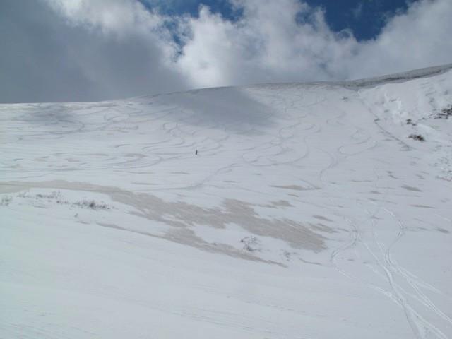Цирк (левая часть) горы ГУС.