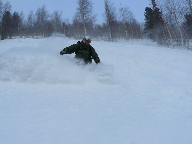 Паудер - не паудер, но снега нет!