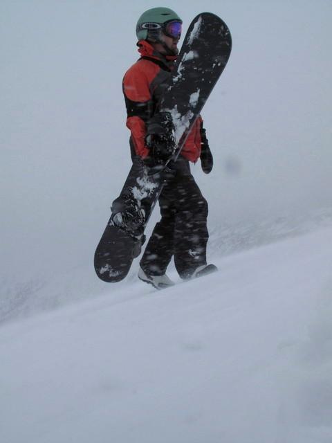 Суббота, снег, гора, доска - все что нуж