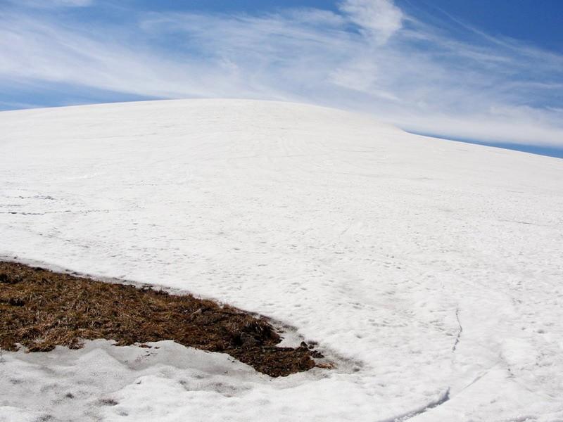 Вершина горы ГУС