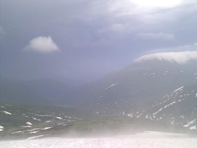 Переменчивая погода в ПРИ. Горы. Красиво, конечно, но